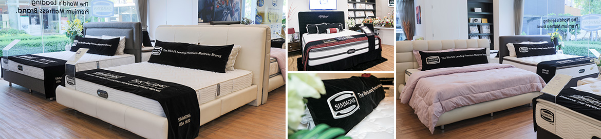 Beautyrest Mattress Hospitality Collection In 2012, Simmons now has added Thailand onto its map of expansion with ...